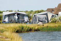 Ved søen på Hvidbjerg Strand Feriepark. Denmark