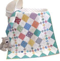 Pleasant Valley Creations — #415 Diamond Patch Quilt Pattern (Big Cartel)