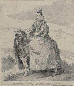 Francisco Goya after Velasquez. Margarita de Austria. Reina de España | by Biblioteca Nacional de España