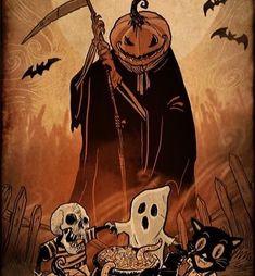 Halloween Artwork, Halloween Drawings, Halloween Pictures, Creepy Halloween, Halloween Horror, Halloween Design, Halloween Crafts, Fall Halloween, Halloween Party