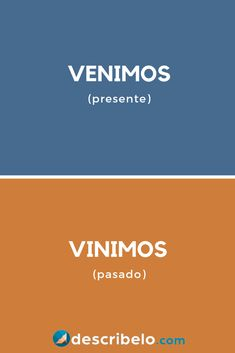Conoce la diferencia entre venimos y vinimos. Mira algunos ejemplos en el enlace. Spanish Grammar, Spanish Vocabulary, Spanish Words, Spanish Language Learning, Spanish Teacher, Spanish Lessons, Teaching Spanish, Speak Spanish, Rare Words