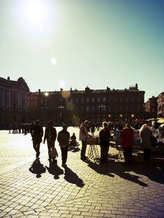 Toulouse, place du Capitole (via Flickr)
