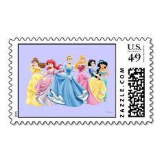 Disney Princesses 13 Postage Stamps