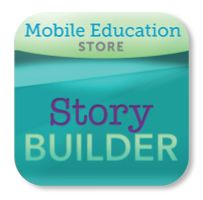 Story Builder- app designed to teach story structure. Helps students learn sentence structure, sequencing and inferencing.
