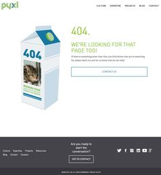 What Does Your 404 Page Look Like? - Pyxl Blog