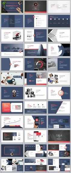 30+ Best tech Business plan PowerPoint template