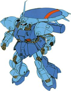 "The RMS-119 EWAC Zack ""Eye-Zack"" is a mass-production reconnaissance mobile suit. It was first featured in the anime Mobile Suit Gundam ZZ. Later the design was updated and featured in the photo-novel/OVA Mobile Suit Gundam Unicorn."