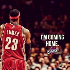"(LeBron James Instagram) ""I'm coming home."" These three words, inducing ecstatic tears of joy from Cleveland Cavaliers fans and the aching feeling of abandonment from fans of the Miami Heat, will undoubtedly go down as one of the most historical phrases in Cavalier history. In his letter to"