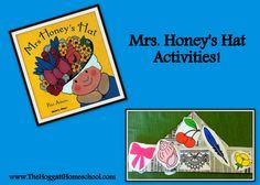 Mrs. Honey's Hat FREE activities