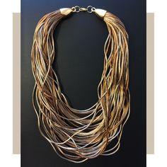 SOIE | Asesoría de Imagen | Collares | Colombia - Tienda Online | Nude Cords Cord, Beaded Necklace, Nude, Collection, Jewelry, Fashion, Templates, Wardrobe Capsule, Store