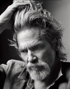This is a great photo of Jeff Bridges. Mark Seliger, Jeff Bridges, New York