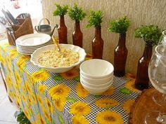 Churrasco  by consultora em decoração de mesas e Natal, via Flickr