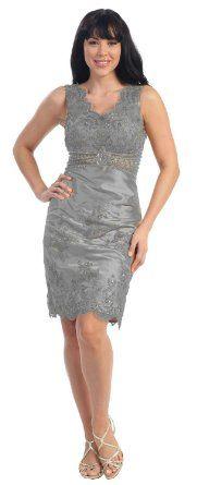 Amazon.com: Elegant Cocktail Party Dress Jr Prom Gown #2504: Clothing