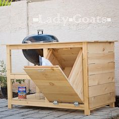 Ana White | Build a DIY Grill Island - Featuring Lady Goats | Free and Easy DIY Project and Furniture Plans