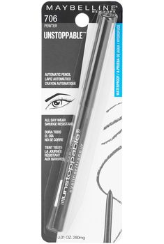 Maybelline Unstoppable Eyeliner as low as $3.10!! Best Amazon Deals, Amazon Sale, Amazon Subscribe And Save, Coupon Queen, Saved Items, Maybelline, Smudging, Coupons, Beauty Products