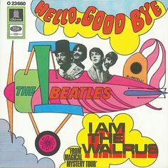 Hello Goodbye/I Am The Walrus single sleeve - West Germany, 1967