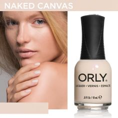 Orly: Naked Canvas (Blush, Spring 2014)