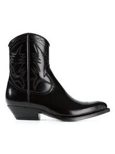 Saint Laurent 'santiag' Western Boots - Liska - Farfetch.com