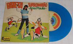 Vinil Compacto Pateta Supercampeão Ana Paula Disney Anos80 #infancia #nostalgia