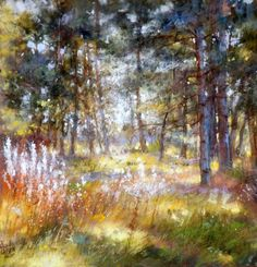 pastel by Claude Carvin