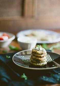 Baked Zucchini Fritters Kolokithokeftedes