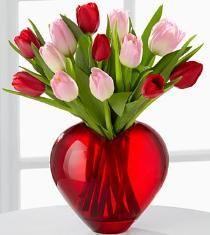 valentine flower arrangements | Valentine's Day Flower Arrangement