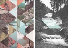 Artists I like: Jelle Martens Collages, Collage Art, Photography Projects, Color Photography, Julien Pacaud, Op Art, Rainy Days, Personal Investigation, Simple Girl