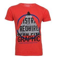 Jack and Jones T-Shirt Sky Tee Slim Red