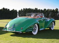 1947 Delahaye 135 MS - green -  (3)