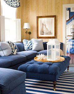 Decorando tu Sala con Sofás en Color Azul