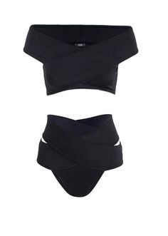 The Top Swimsuit Trends of Summer 2016 | Off The Shoulder Top, High Waist Bottoms | Oye Swimwear Bikini