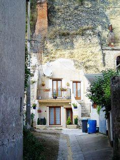 Troglodyte Home in Amboise ~ Loire