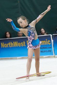 Competition Rhythmic Gymnastics Leotard- SOLD