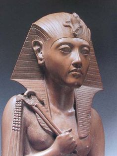 """Sobekneferu (sometimes written """"Neferusobek"""") was an Egyptian pharaoh of the twelfth dynasty. Her name meant """"the beauty of Sobek."""" She was the daughter of Pharaoh Amenemhat III. Manetho states she also was the sister of Amenemhat IV, but this claim is unproven. Sobekneferu had an older sister named Nefruptah who may have been the intended heir. Neferuptah's name was enclosed in a cartouche and she had her own pyramid at Hawara. Neferuptah died at an early age however."""