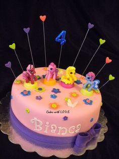 My Little Pony Cake - single layer