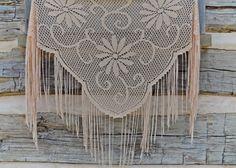 Vintage Shawl / Sheer Shawl / Summer Shawl / Victorian Shawl / Boho Shawl / Bohemian Shawl / Fringe Scarf / Floral Accessory / Beach Wrap