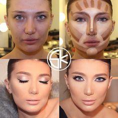Правильно выполненный макияж может сделать тебя неотразимой