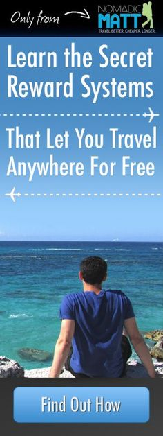 61 Travel Tips to Make You the World's Savviest Traveler By Nomadic Matt | Published October 2nd, 2014