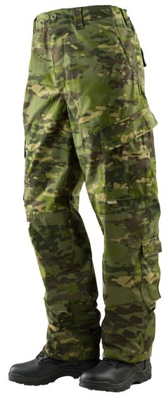 TRU-SPEC Tactical Response Uniform (TRU) Pants 50/50 Nylon/Cotton Rip-Stop - Multicam Tropic