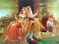 Rajasthani painting : The Magic of music