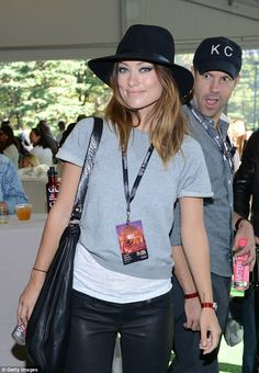 Olivia Wilde with Jason Sudekis.