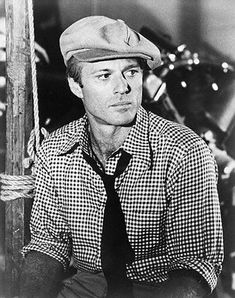 "USA --- Robert Redford, good closeup, wearing cap and profile, H.L. in motion picture, ""The Sting.""  Movie still.  Filed: 1/26/74. Movie Released: 1973. --- Image by © Bettmann/CORBIS"