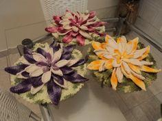 Flores de Lótus, inspiradas na criação da Cristina Luriko