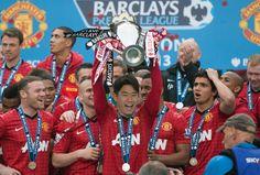 Shinji Kagawa(Manchester United), PL Champion ceremony.
