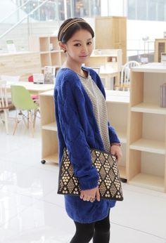 Fashion Candy Color Sweater #womenfashion #fashionsweater