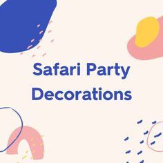Baby Girl Shower Themes, Girl Baby Shower Decorations, Baby Boy Shower, Safari Party Decorations, Party Themes, Party Ideas, Balloon Garland, Balloons, Party In A Box