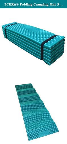 3CERA® Folding Camping Mat Picnic Seat Pad Sleeping Mat Waterproof Comfort Cushion (BLUE). Cushioning is good. Provided pouch Both sides can be used Package include: 1pc.