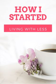 Do you want to learn how I started on my journey of living with less? Read all about the book that changed my life , and see how it can change your live too
