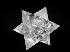 Brazilian Quartz Hexacontagon Star 12 Point- 60 Sided. This is a stunning clear quartz hexacontagon crafted from Brazilian clear quartz. The hexacontagon geometric shape features 12 points and 60 sides. This piece demonstrates an incredible level of craftsmanship with precise angles and symmetry. #quartz #crystal #sculpture #sacred #geometry