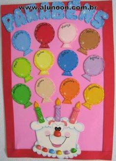trendy Ideas for birthday board school classroom decor Birthday Chart Classroom, Birthday Bulletin Boards, Birthday Wall, Birthday Charts, Birthday Board, Board Decoration, Class Decoration, School Decorations, Preschool Classroom Decor
